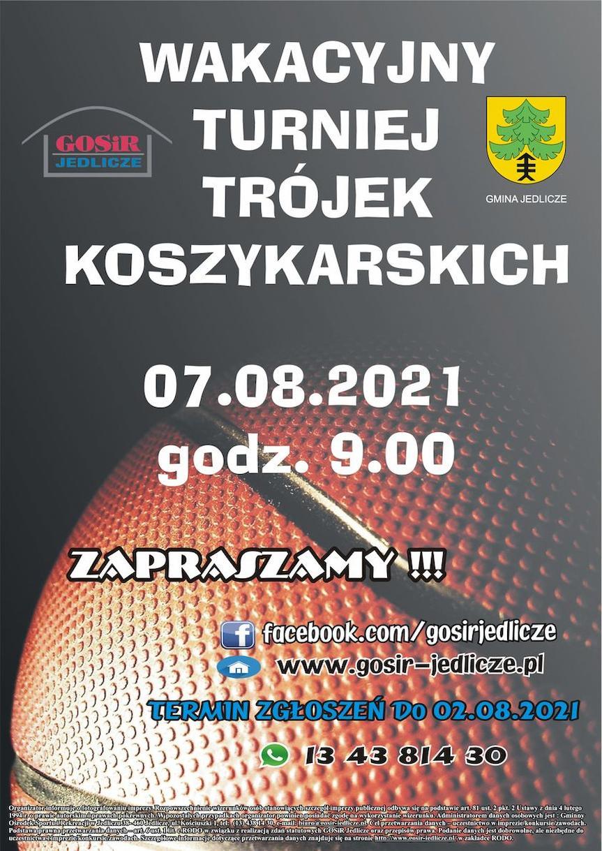 Wakacyjny Turniej Trójek Koszykarskich
