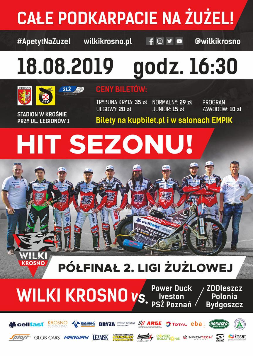 Wilki Krosno - ZOOleszcz Polonia Bydgoszcz