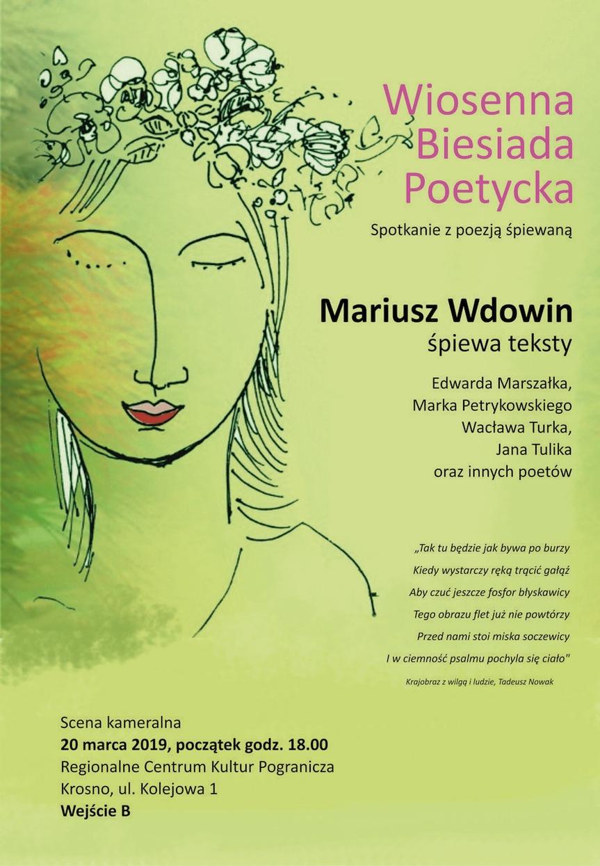 Wiosenna Biesiada Poetycka. Spotkanie z poezją śpiewaną