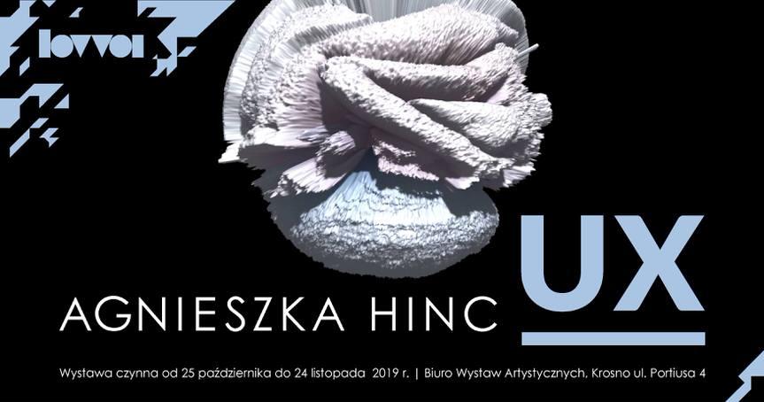 Wystawa Agnieszki Hinc - UX
