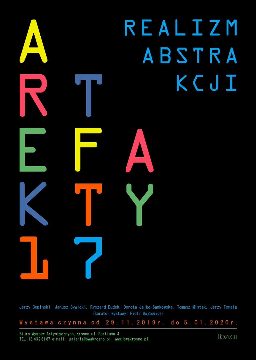 Wystawa Artefakty 17 - Realizm abstrakcji