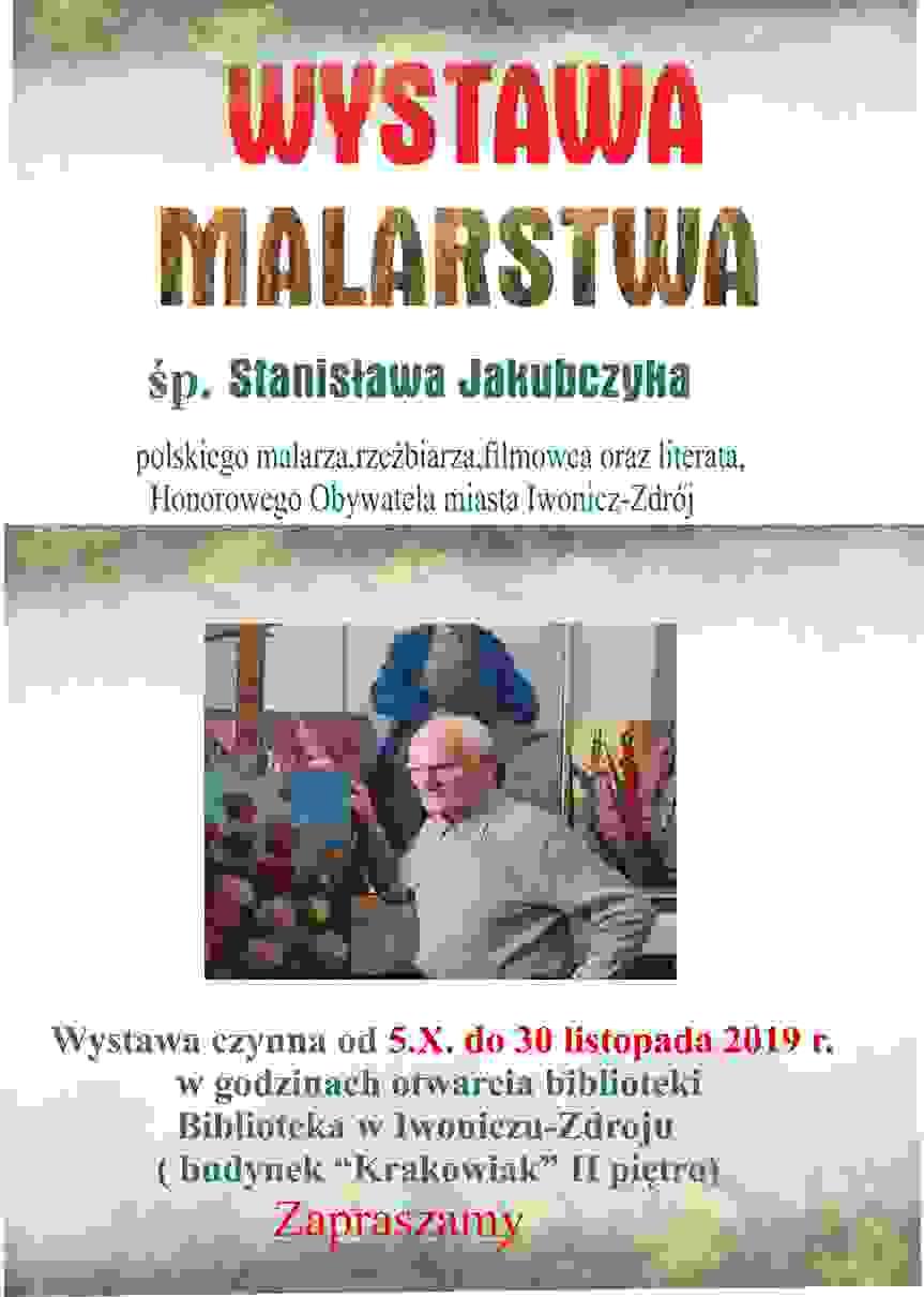 Wystawa malarstwa Stanisława Jakubczyka