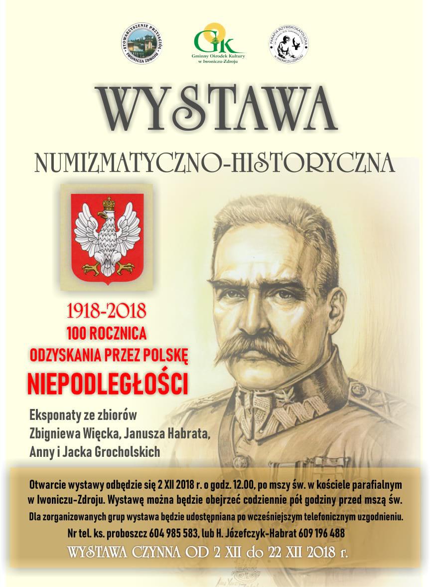 Wystawa Numizmatyczno - Historyczna w Iwoniczu-Zdroju