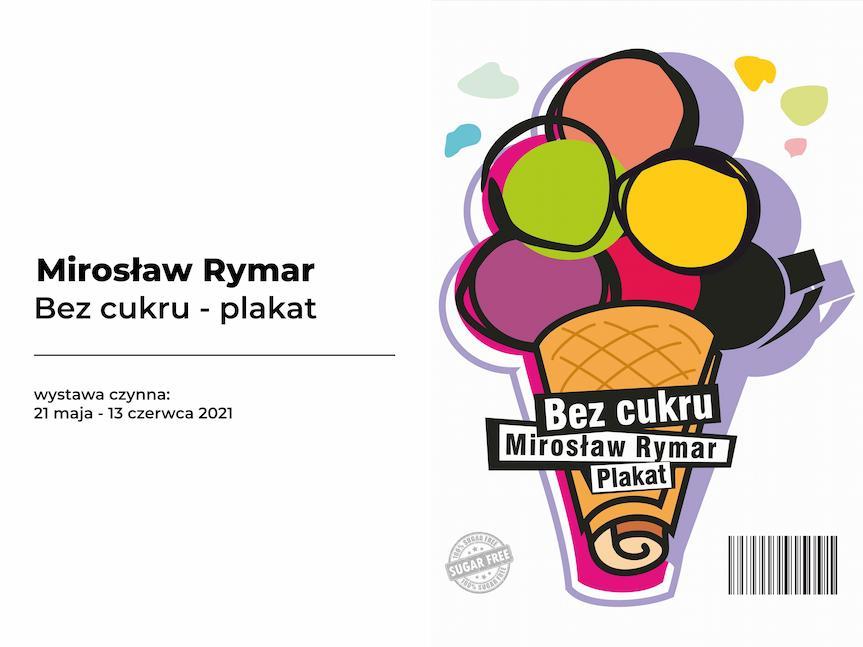Wystawa plakatów Mirosława Rymara w BWA w Krośnie