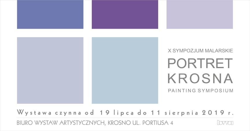 """Wystawa poplenerowa """"Portret Krosna X"""""""