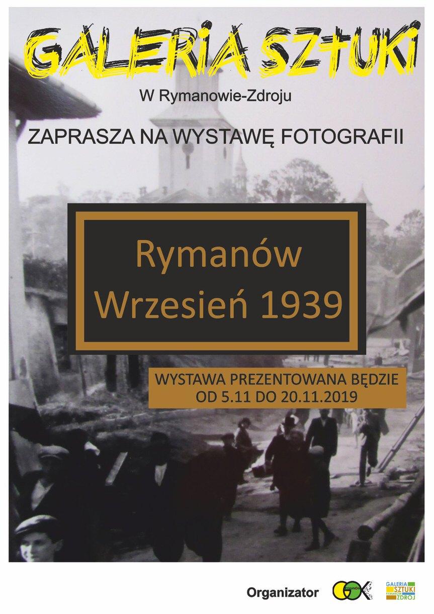 """Wystawa """"Rymanów Wrzesień 1939"""""""