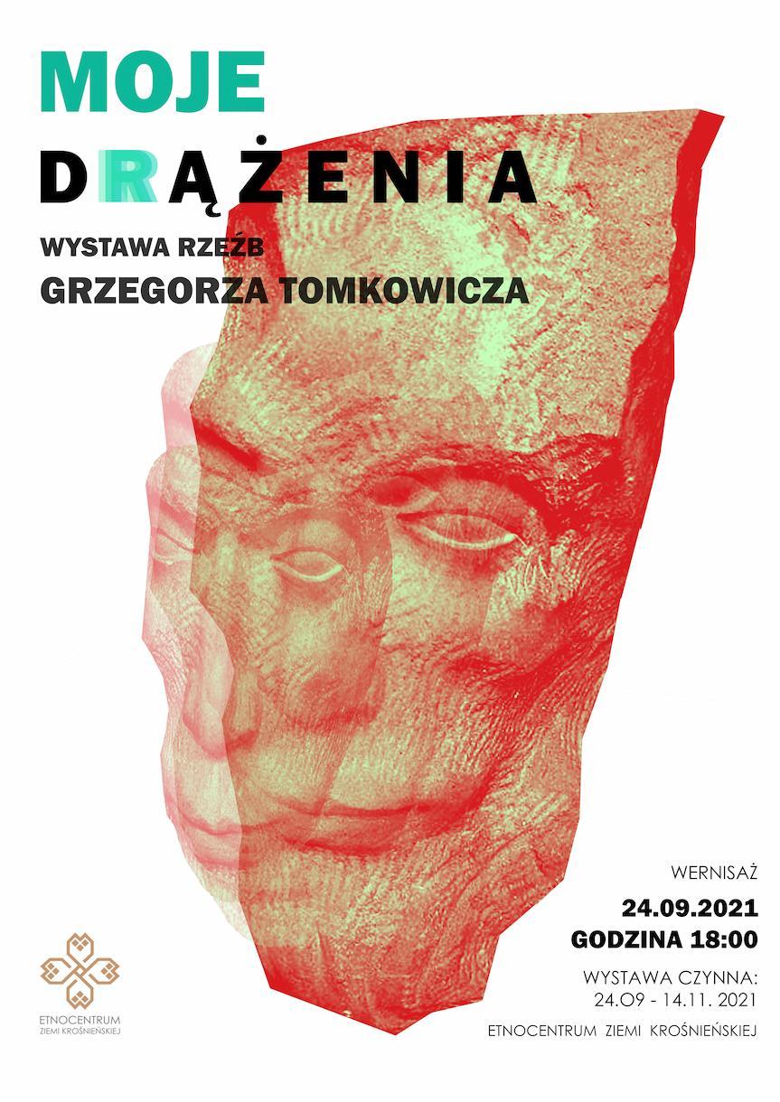 """Wystawa rzeźb Grzegorza Tomkowicza """"Moje drążenia"""""""