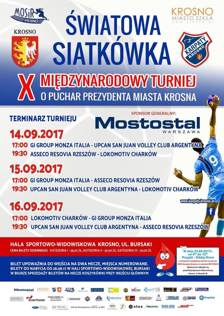 X Międzynarodowy Turniej o Puchar Prezydenta Miasta Krosna