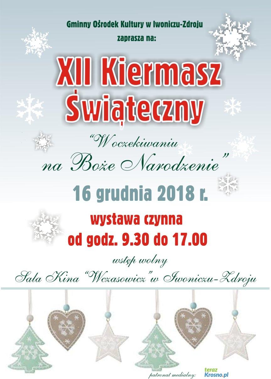 XII Kiermasz Świąteczny w Iwoniczu-Zdroju