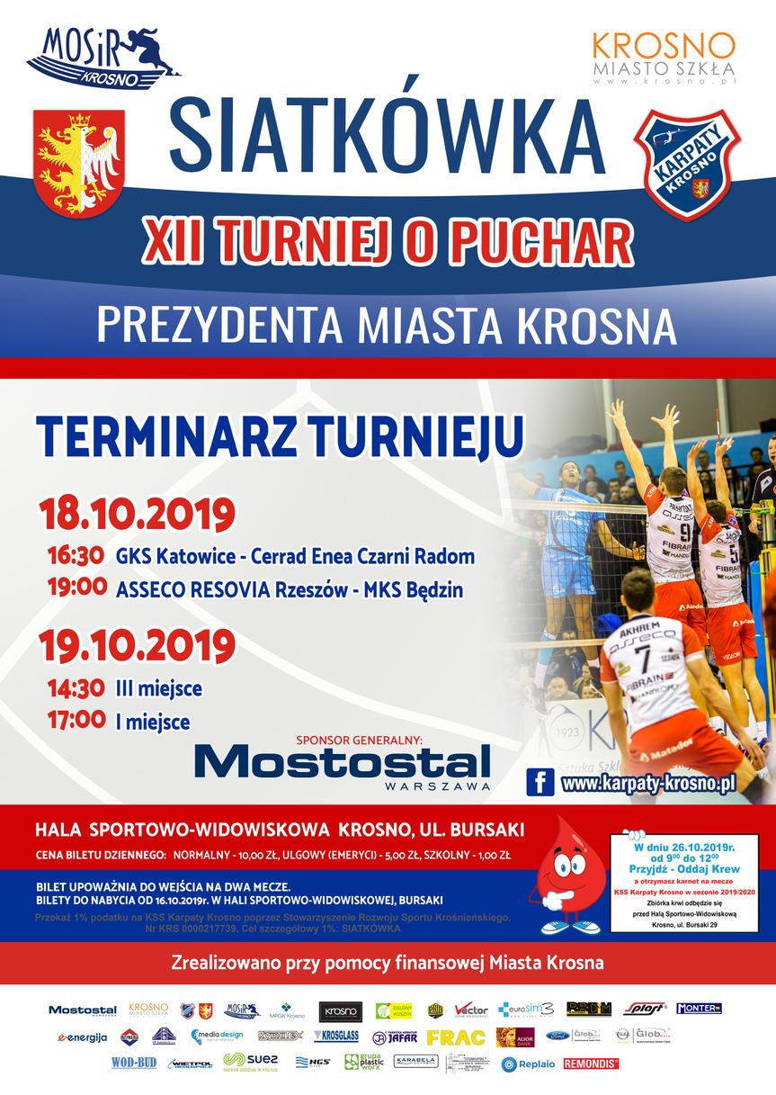 XII Turniej o Puchar Prezydenta Miasta Krosna