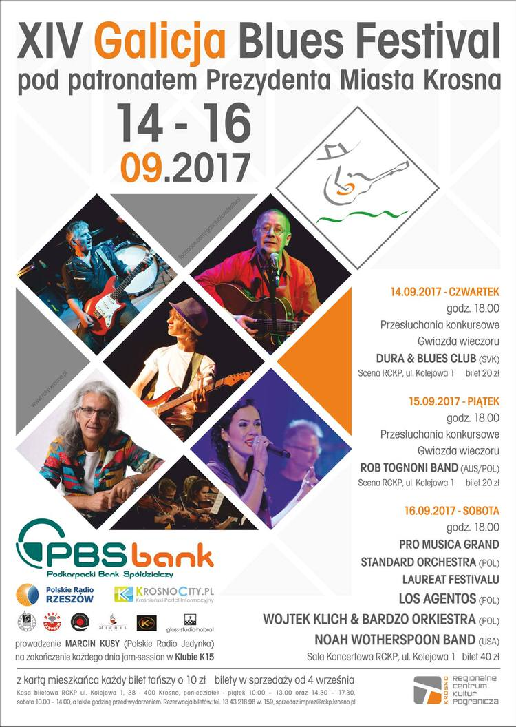 XIV Galicja Blues Festival