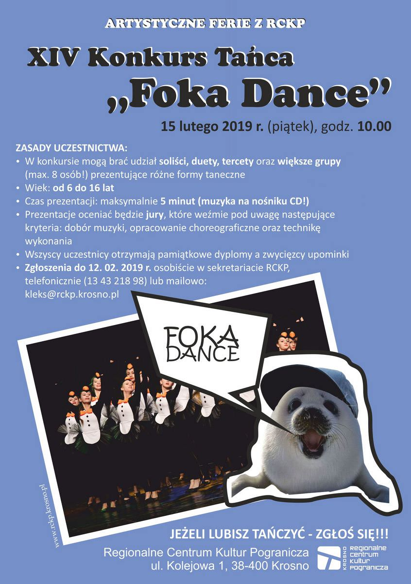 XIV Konkurs Tańca Foka Dance