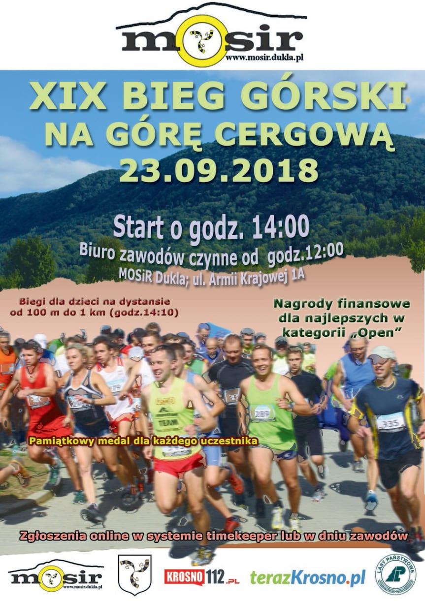 XIX Bieg Górski na Górę Cergową