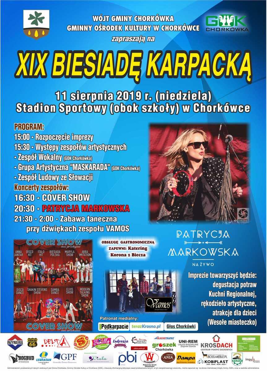 XIX Biesiada Karpacka w Chorkówce