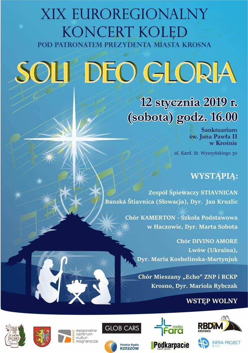 XIX Euroregionalny Koncert Kolęd Soli Deo Gloria
