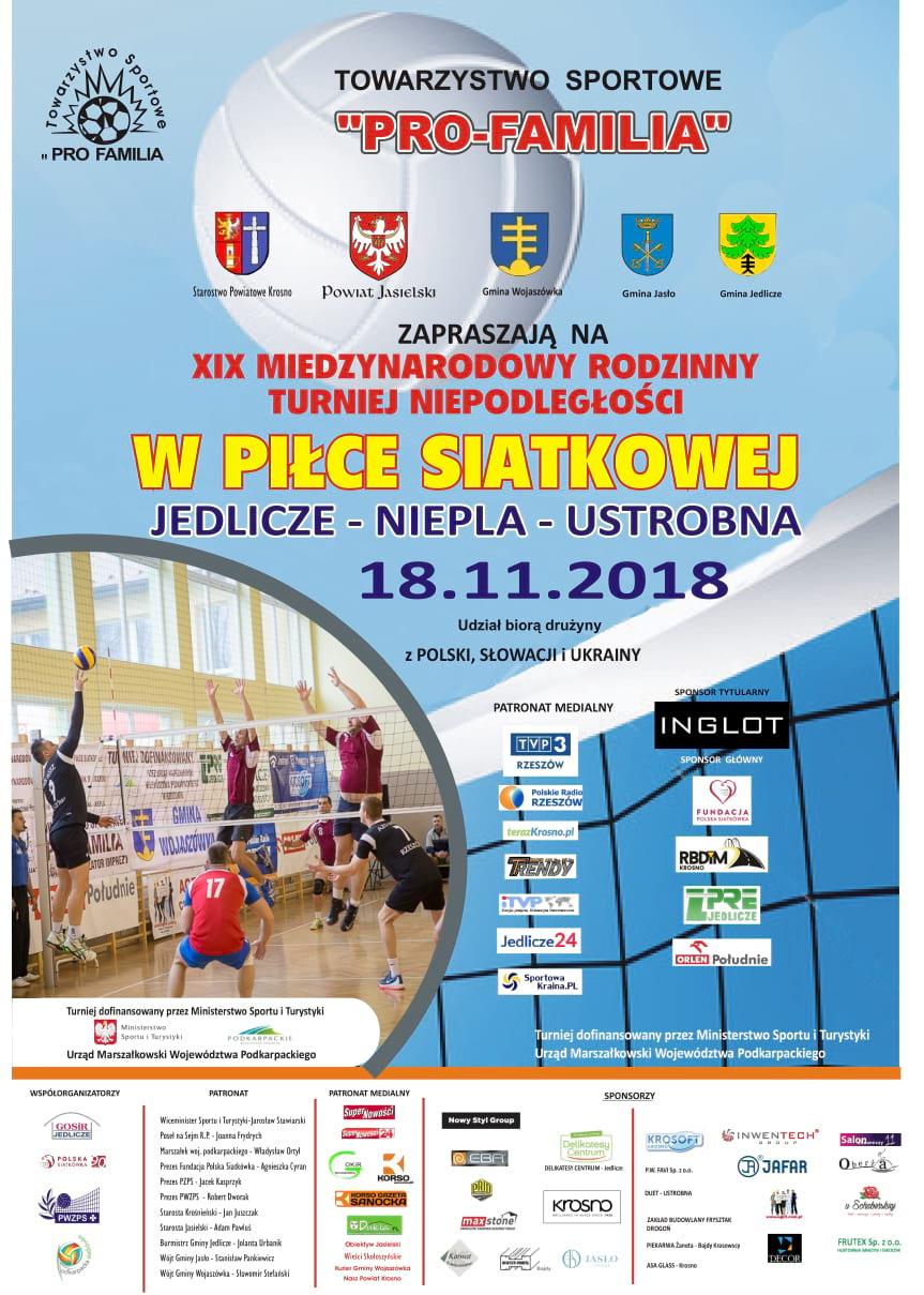 XIX Międzynarodowy Rodzinny Turniej Niepodległości w Piłce Siatkowej