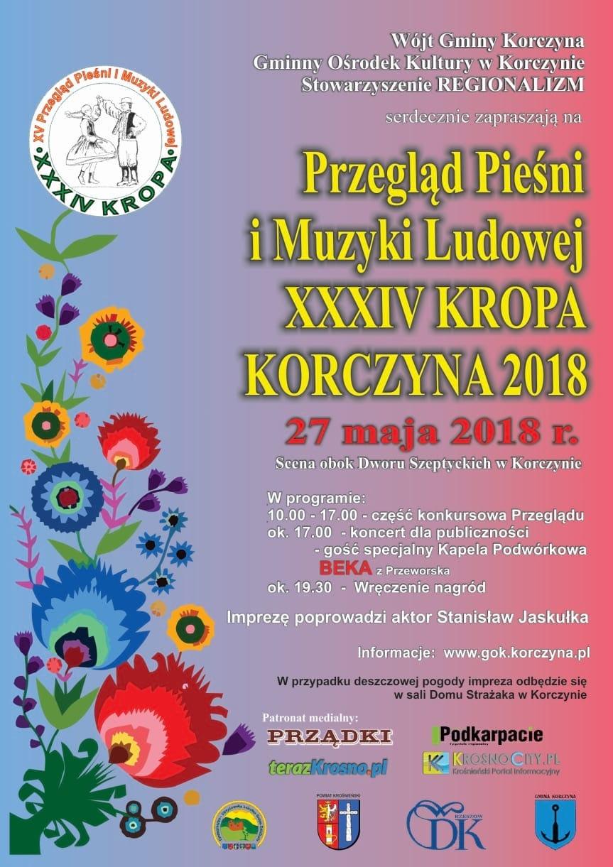 Przegląd Pieśni i Muzyki Ludowej, XXXIV KROPA