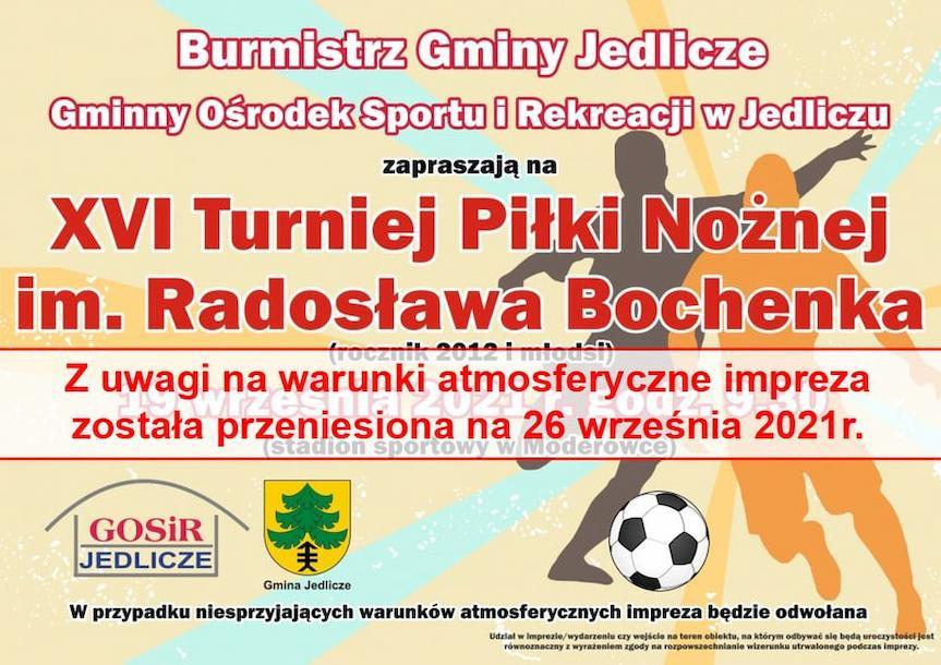 XVI Turniej Piłki Nożnej im. Radosława Bochenka