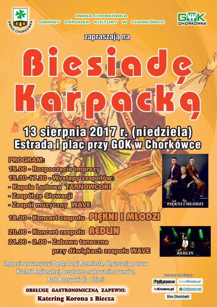 Biesiada Karpacka w Chorkówce 2017