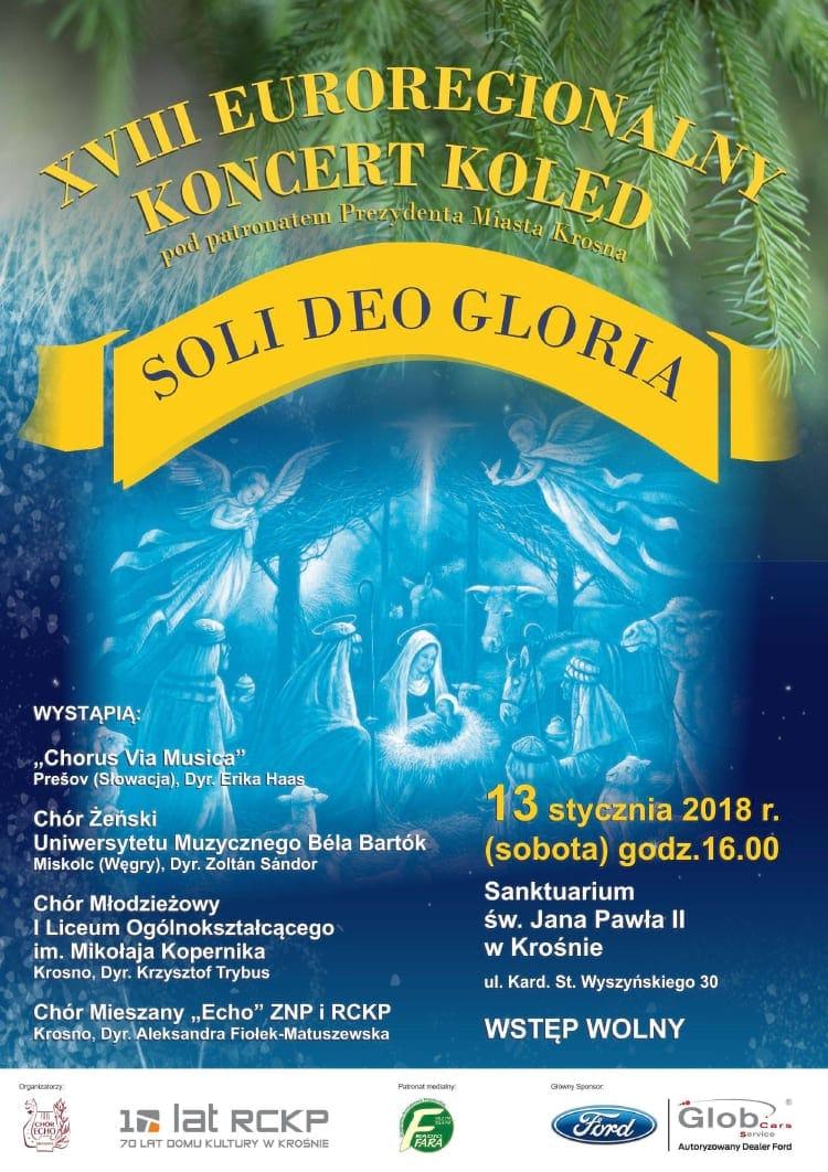 XVIII Euroregionalny Koncert Kolęd