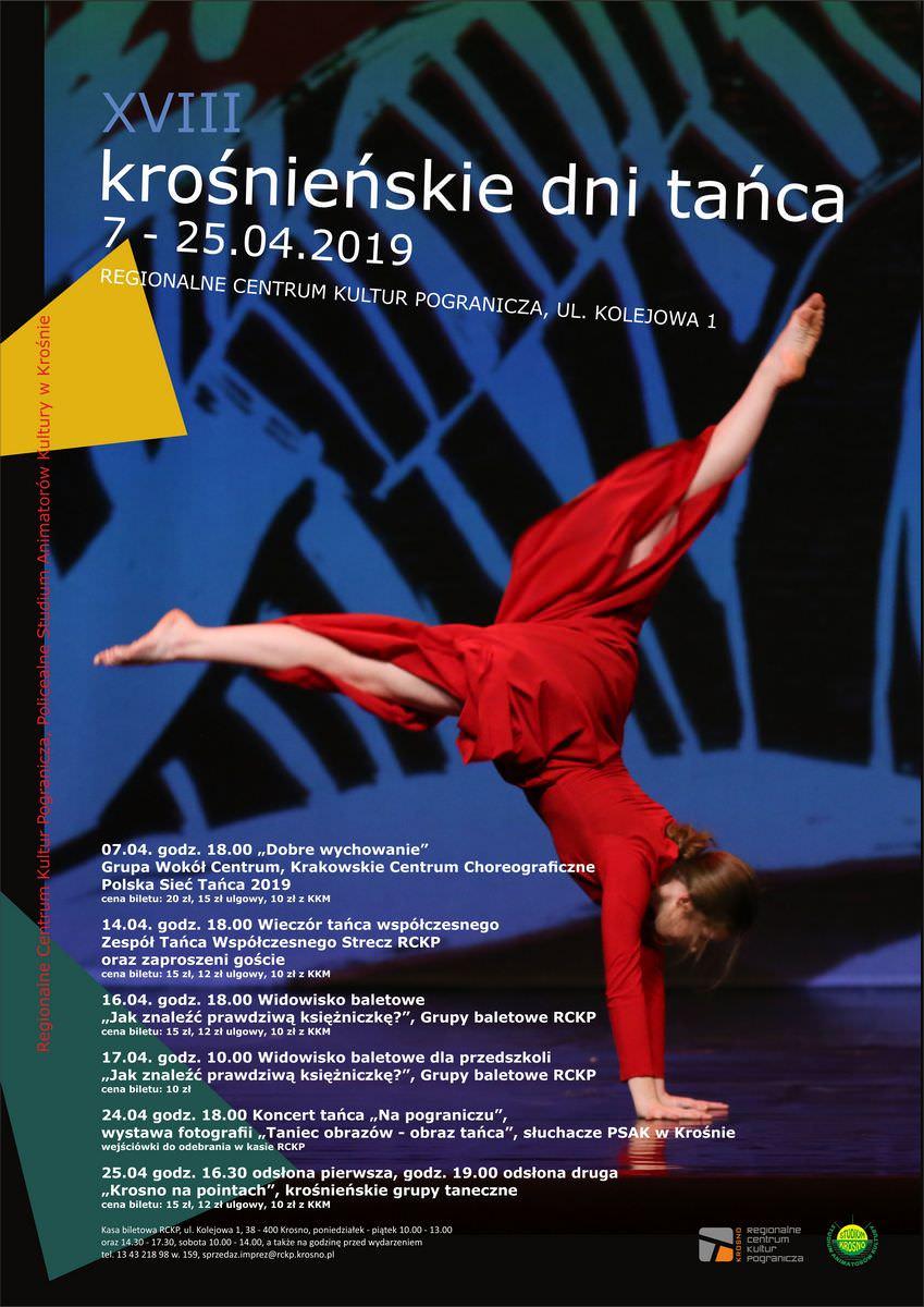 """XVIII Krośnieńskie Dni Tańca 2019 - Widowisko baletowe dla przedszkoli """"Jak znaleźć prawdziwą księżniczkę"""""""