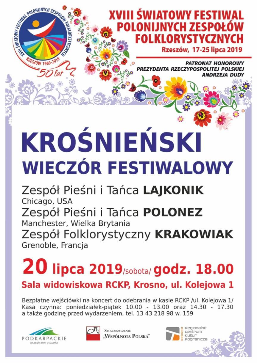XVIII Światowy Festiwal Polonijnych Zespołów Folklorystycznych