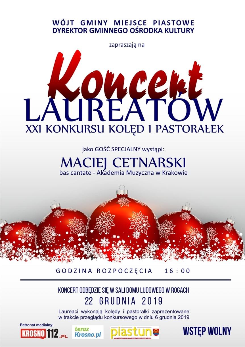XXI Konkurs Kolęd i Pastorałek - Koncert Laureatów