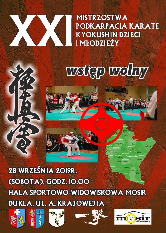 XXI Mistrzostwa Podkarpacia Karate Kyokushin Dzieci i Młodzieży