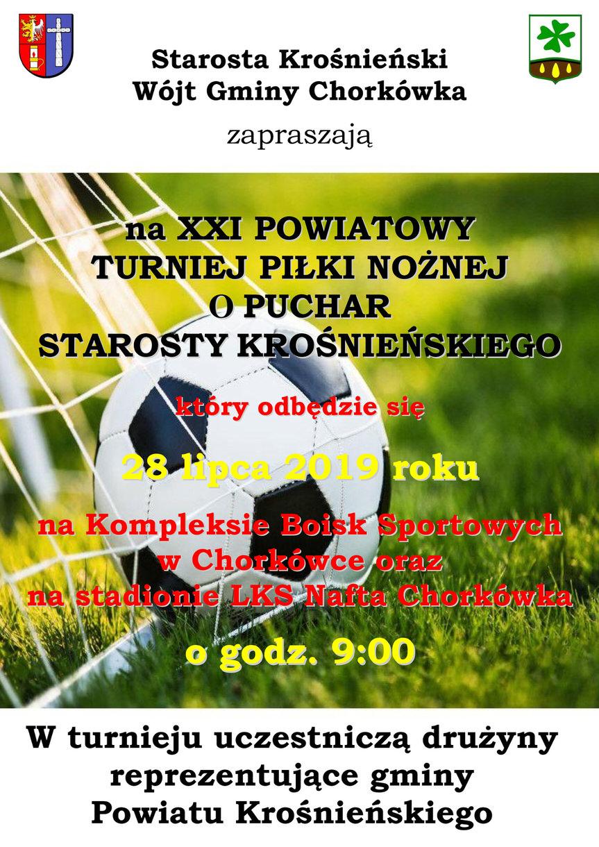 XXI Powiatowy Turniej Piłki Nożnej o Puchar Starosty Krośnieńskiego