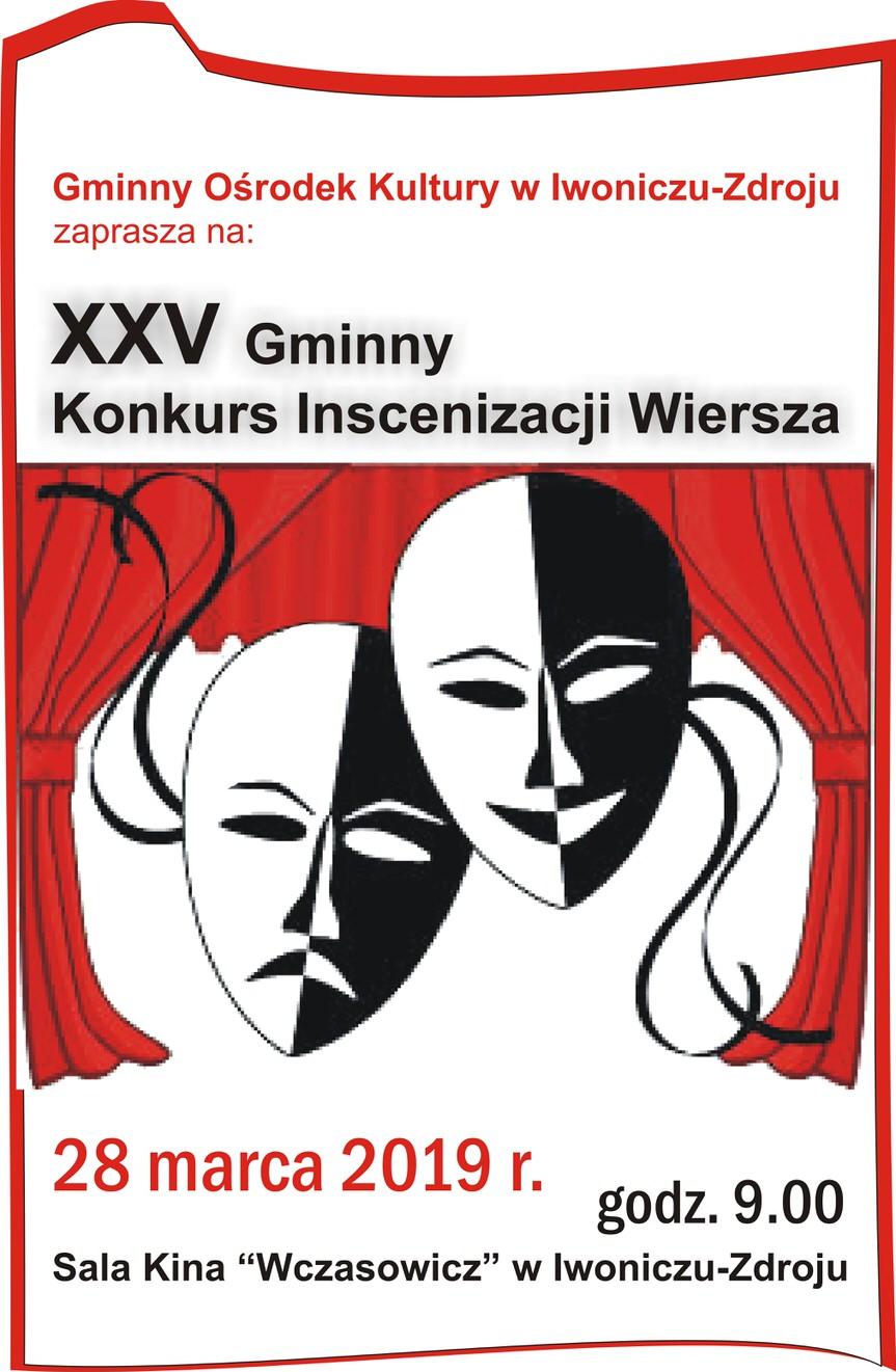 XXV Gminny Konkurs Inscenizacji Wiersza