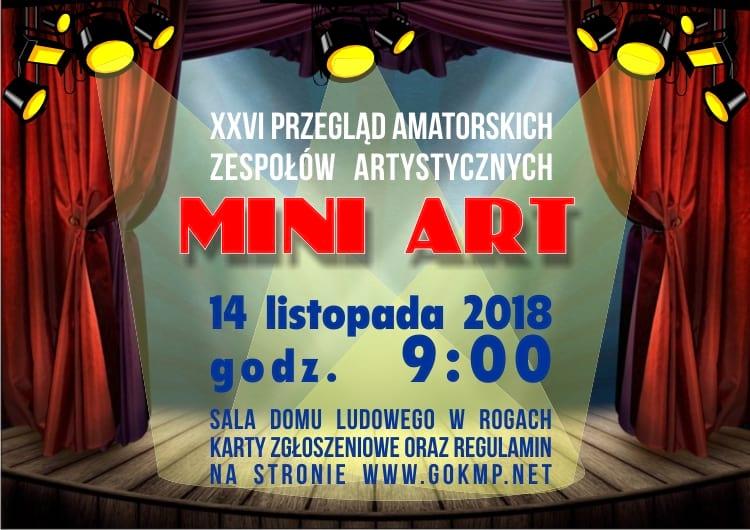 XXVI Przegląd Amatorskich Zespołów Artystycznych MINI ART