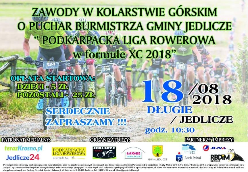 Zawody w Kolarstwie Górskim o Puchar Burmistrza Gminy Jedlicze