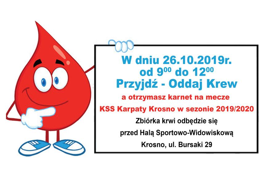 Zbiórka krwi w Krośnie