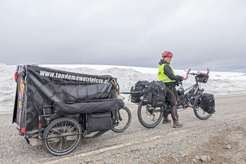 Zimowa ekspedycja rowerowa za koło podbiegunowe z psem - spotkanie podróżnicze