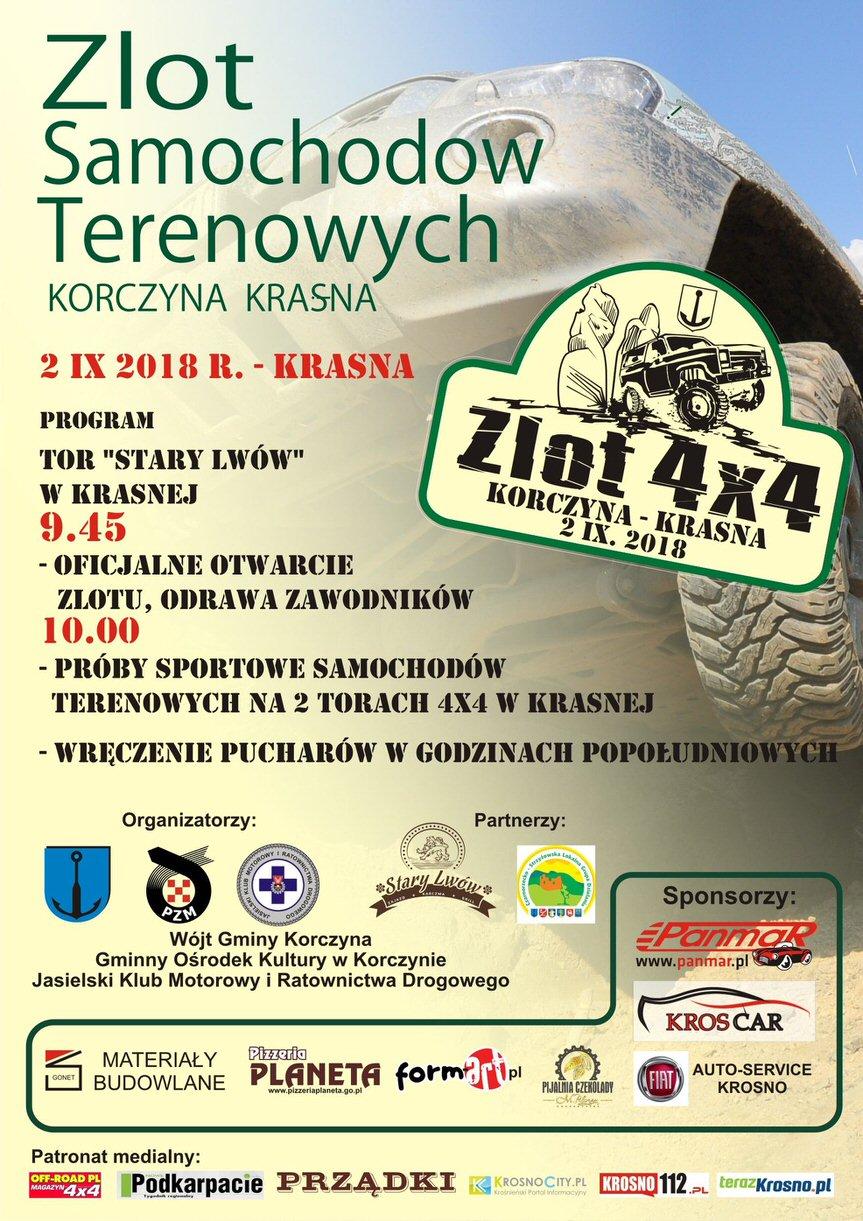 Zlot 4x4 2018 Korczyna - Krasna