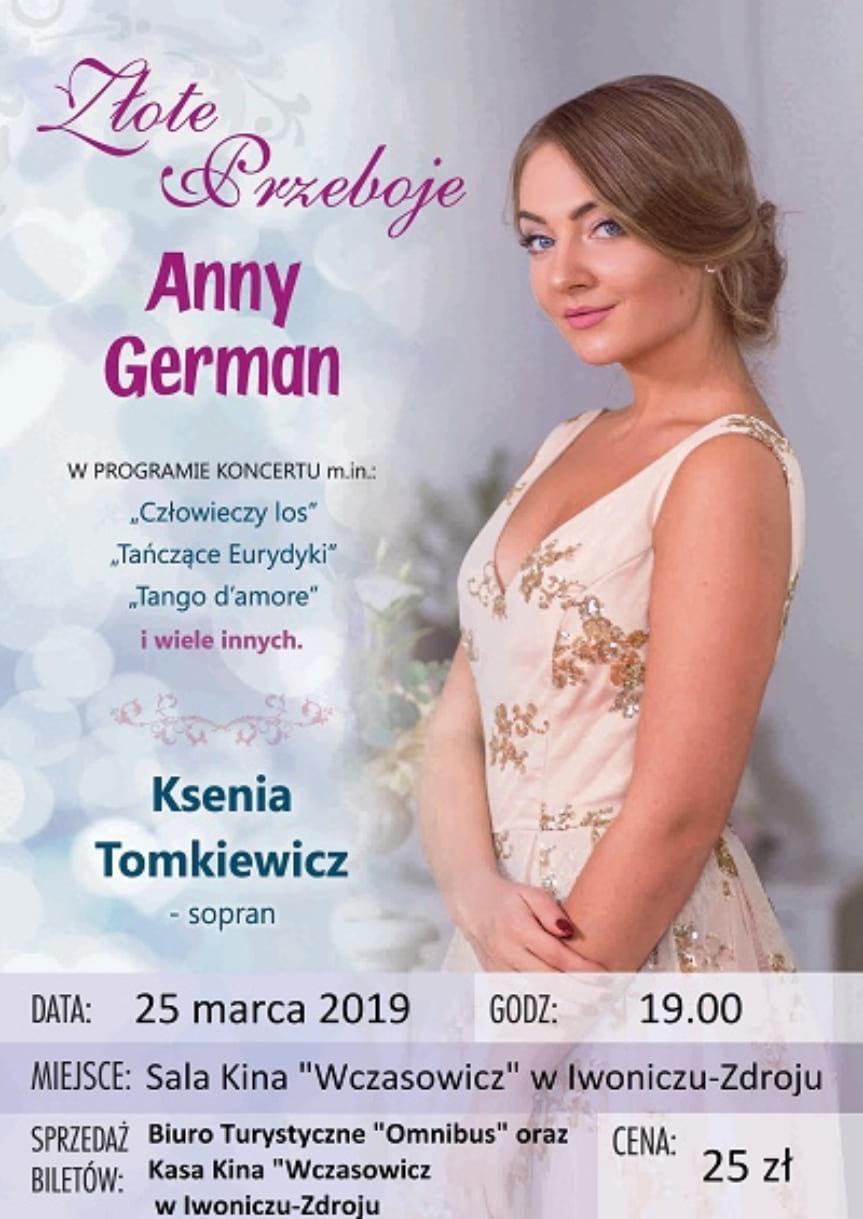 Koncert Złote Przeboje Anny German