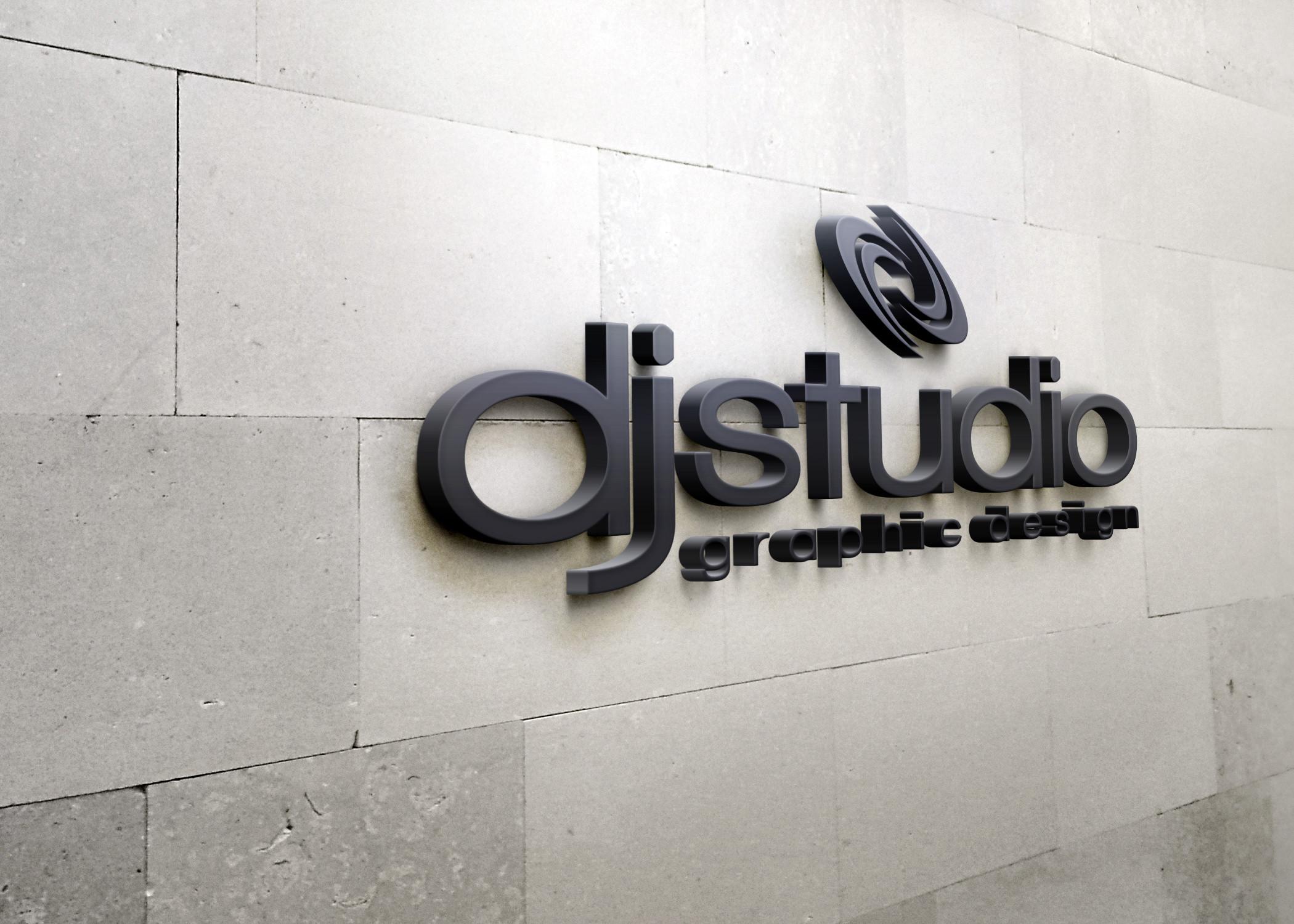 DJ STUDIO projekty graficzne, projektowanie logo