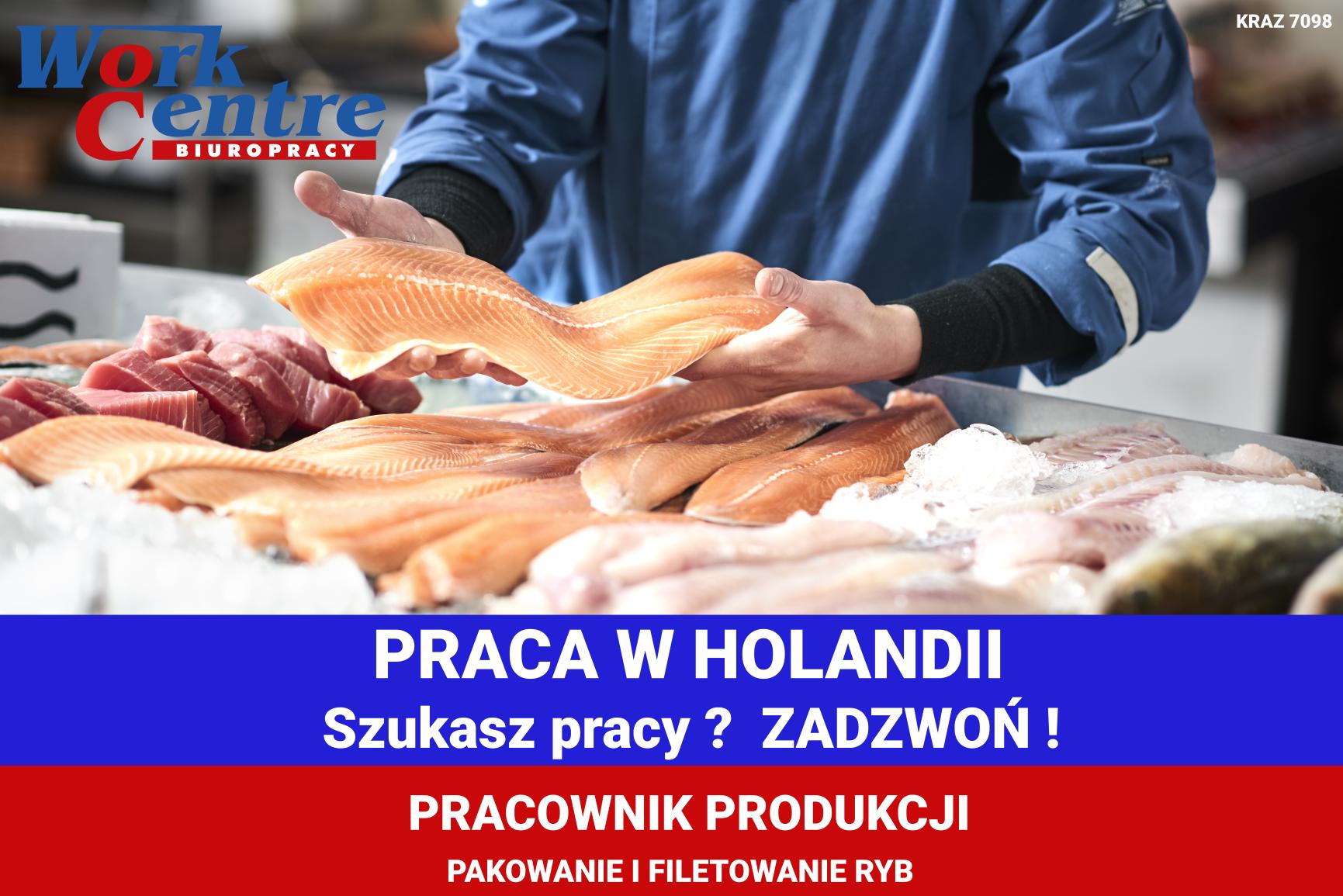 Pakowanie i filetowanie ryb