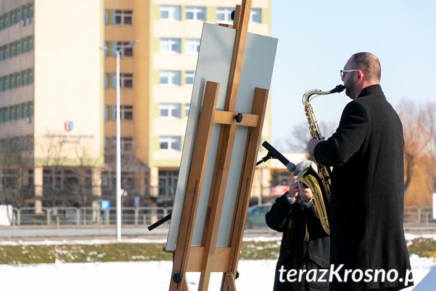 Krosno Pożegnało Symbolicznie Pawła Adamowicza