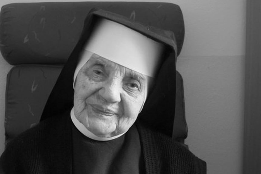 Zmarła s. Gabriela Helena Sporniak, najstarsza mieszkanka Podkarpacia