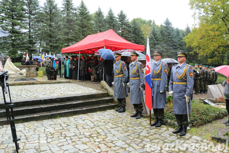 72 rocznica Operacji Dukielsko-Preszowskiej w Dukli