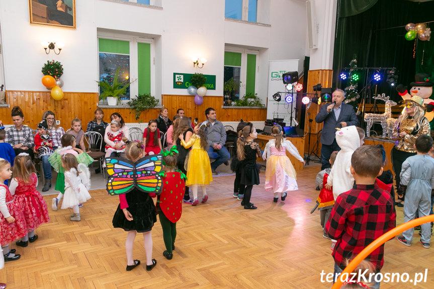Bal karnawałowy dla dzieci w Chorkówce