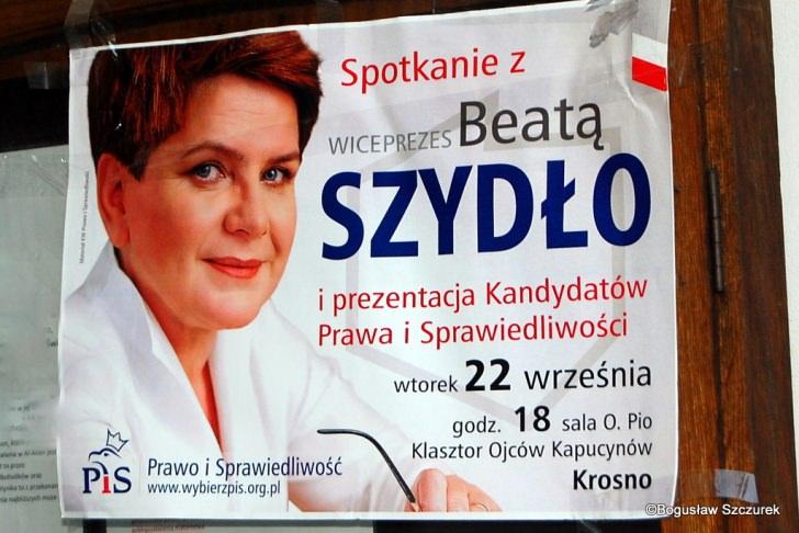 Beata Szydło w Krośnie