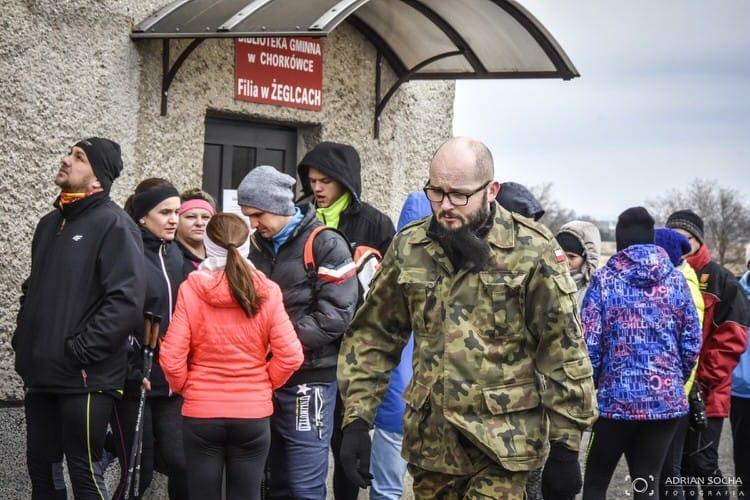 Bieg Pamięci Żołnierzy Wyklętych Tropem Wilczym w Żeglcach