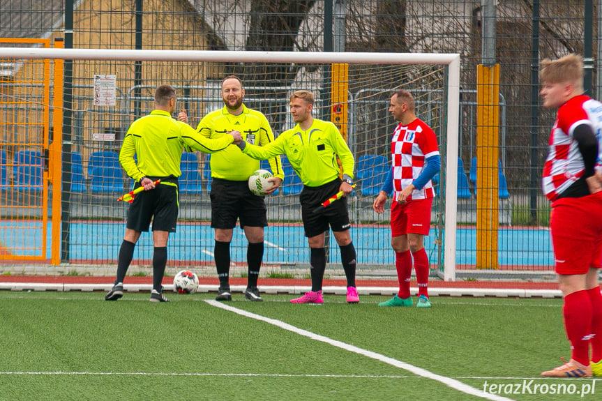 Błękitni Żeglce - Jasiołka Świerzowa Polska 0:3