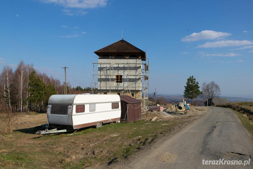 Budowa wieży widokowej w Czarnorzekach