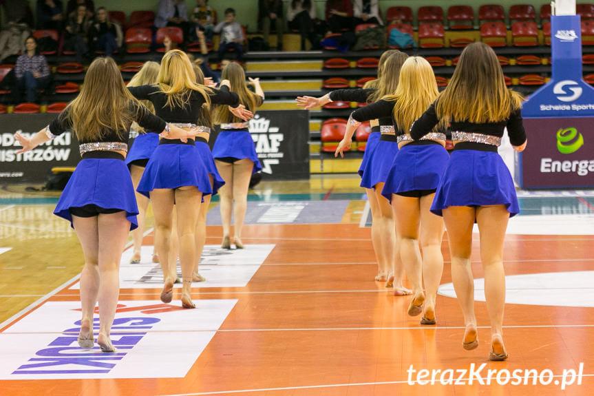 Cheerleaders Fragolin - Miasto Szkła Krosno - AZS Koszalin