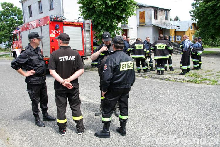 Ćwiczenia OSP w Jaśliskach