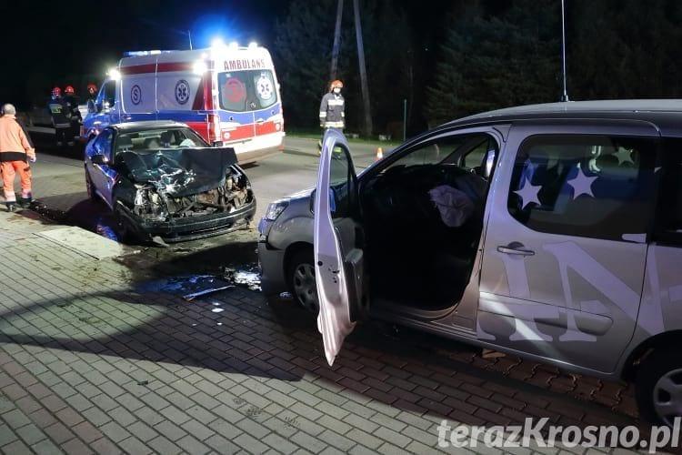 Czołowe zderzenie w Świerzowej Polskiej