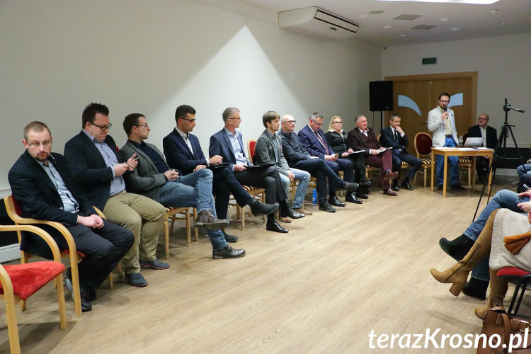 Debata Klubów Liberalnych w Krośnie
